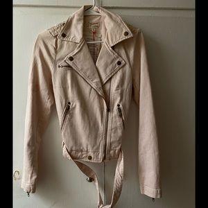 Current/Elliot Pink Jean Jacket